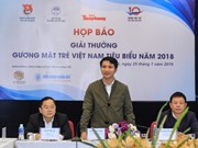 Bientôt la remise du prix ''Jeunes vietnamiens exemplaires'' 2018