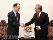 Le vice-PM Truong Hoa Binh reçoit le procureur général de la R. de Corée