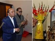 Le PM Nguyên Xuân Phuc rend hommage à d'anciens dirigeants