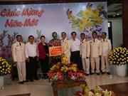 La présidente de l'AN effectue une visite à Tien Giang à l'occasion du Têt