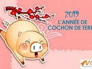 Dans les estampes de Dông Hô, tout est bon dans le cochon