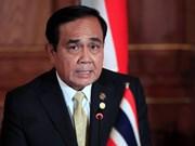 Le Premier ministre thaïlandais pose sa candidature aux élections