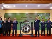 Le chef du gouvernement ouvre la première séance boursière de 2019