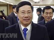 Le vice-Premier ministre Pham Binh Minh se rend à Pyongyang