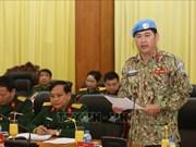 Un autre officier envoyé à participer aux opérations de maintien de la paix de l'ONU