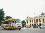 Tour de la capitale Hanoi en bus vintage