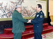 Le vice-ministre de la Défense en visite en Chine