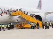 Aviation civile : plusieurs compagnies étrangères inaugurent leurs vols vers le Vietnam