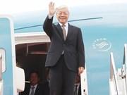Le plus haut dirigeant vietnamien se rend au Laos et au Cambodge