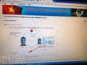 Promulgation d'un décret sur la délivrance des visas électroniques