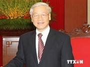 La presse laotienne salue la prochaine visite du dirigeant vietnamien Nguyen Phu Trong