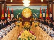 Entretien entre Nguyen Phu Trong et Bounnhang Vorachith