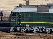 Médias internationaux: le train du dirigeant nord-coréen est arrivé en Chine