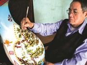 Un nouveau style de laques pour exprimer la tradition à Cat Dang