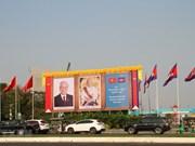 Le dirigeant Nguyen Phu Trong termine sa visite au Laos et au Cambodge