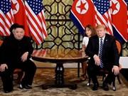 Sommet États-Unis-RPDC : les dirigeants vont signer un accord commun