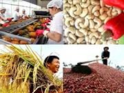 Le secteur agricole connaît un excédent commercial en deux mois