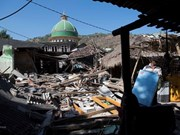 L'Indonésie accélère la construction de logements pour les victimes du séisme
