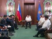 Renforcement des relations Vietnam-Philippines