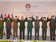 Sécurité : l'ASEAN renforce la coopération en son sein