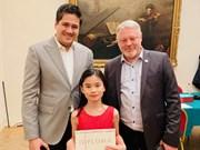 Nguyen Nguyen Le remporte un concours international de violon en Belgique
