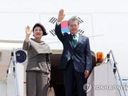 Le président sud-coréen entamme sa visite d'Etat au Cambodge
