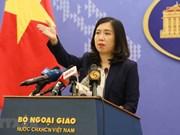 Le Vietnam s'oppose à l'exercice de tir réel de Taiwan (Chine) sur l'île de Ba Binh