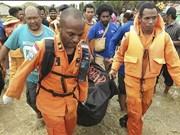 Indonésie: au moins 107 morts dans les inondations et les glissements de terrain