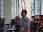 Un homme condamné pour propagande d'opposition à l'Etat