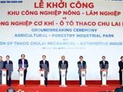 Thaco Truong Hai met en chantier plusieurs ouvrages à Quang Nam