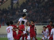 Le Vietnam bat l'Indonésie 1 à 0 lors des qualifications de l'AFC U23