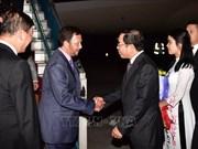 Le sultan du Bruneï entame sa visite d'Etat au Vietnam