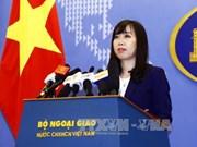 Demander à la Chine de respecter la souveraineté du Vietnam sur Hoang Sa et Truong Sa