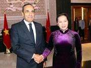 Vietnam-Maroc : entretien entre Mme Nguyên Thi Kim Ngân et M. Habib el Malki