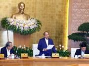 Le PM appelle à une amélioration de l'environnement des affaires