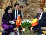Vietnam-Belgique : entrevue entre Nguyên Thi Kim Ngân et Siegfried Bracke