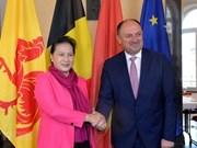 La présidente d'AN rencontre le ministre-président wallon