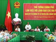 Le PM Nguyên Xuân Phuc travaille avec les provinces du delta du Mékong