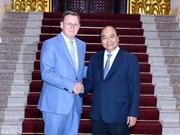 Le Premier ministre reçoit le ministre-président allemand de Thuringe