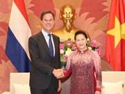 La présidente de l'AN Nguyên Thi Kim Ngân rencontre le Premier ministre néerlandais