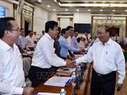 Le Premier ministre travaille avec des dirigeants de HCM-Ville