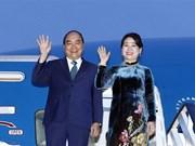 Le Premier ministre Nguyên Xuân Phuc entame sa visite en Roumanie