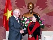 La présidente de l'AN affirme les liens vietnamo-américains