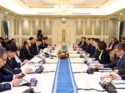 Le PM Nguyên Xuân Phuc dialogue avec de grandes entreprises chinoises