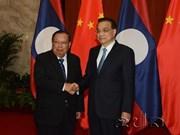 Le PM chinois rencontre le président laotien