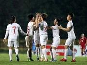 U19 : l'équipe féminine vietnamienne se qualifie pour le Championnat asiatique de football