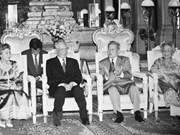 Le décès du général Lê Duc Anh suscite une vive émotion au Cambodge