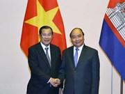 Le Premier ministre reçoit des dirigeants laotiens et cambodgiens