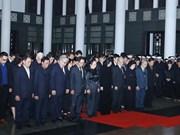Funérailles nationales pour l'ancien président Lê Duc Anh