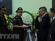 Des dirigeants étrangers rendent hommage à l'ancien président Le Duc Anh au Cambodge et en Egypte